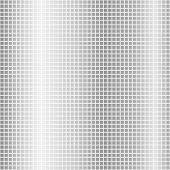 Gray Mosaic. Background Image Of Gray Mosaic Squares On White. Vector Mosaic Illustration. poster