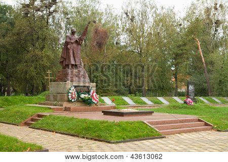 Soviet Memorial At Korosten, Ukraine