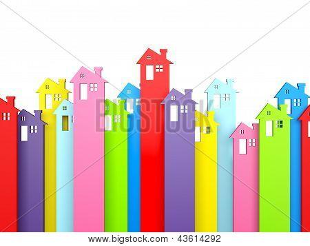 House Property Symbol Arrows