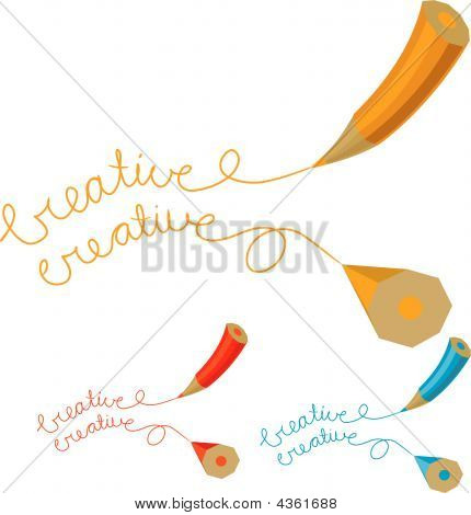 Two Creative Pencil