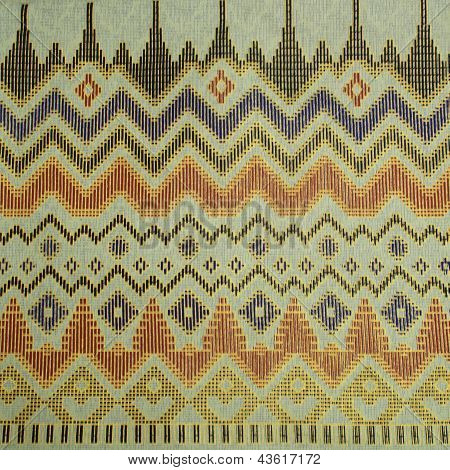 Pattern Of Thailand Cloths