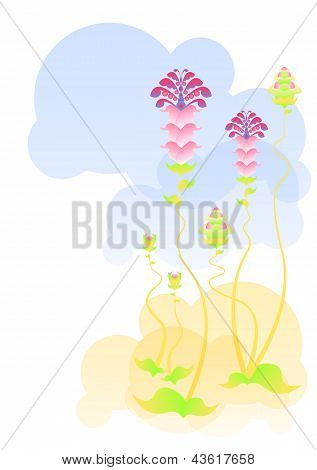 Abstract Flowering Plants