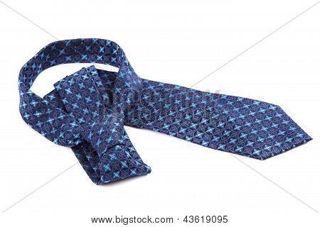Luxury Tie On White Background.