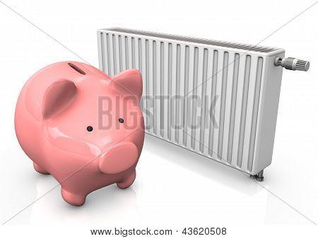 Piggybank Radiator