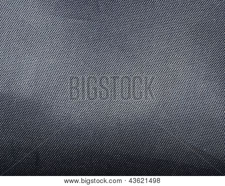 Black polyester texture