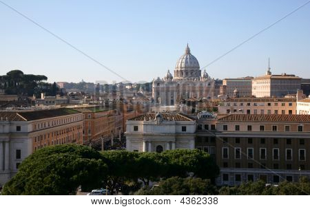 Cathedral Sainted Peter, Rome, Italy