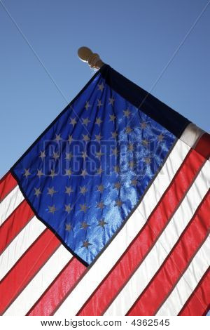 Hometown American Flag