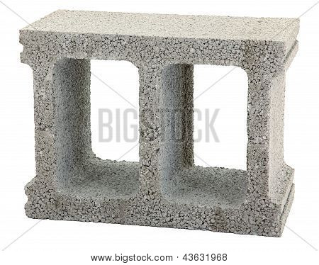Gray Cinder Block
