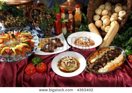 Gourmet Entrees And Appetizers