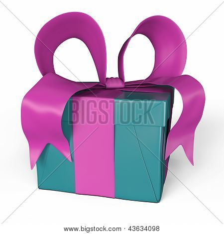 My Gift In Pink And Turquoise