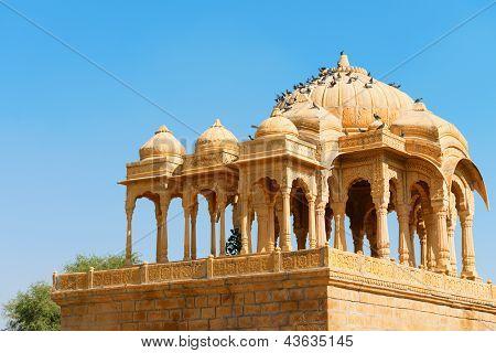 Royal Cenotaphs, Bada Bagh, India