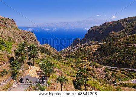 Road In La Gomera Island - Canary