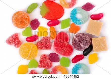 Fruit Candy Multi-colored