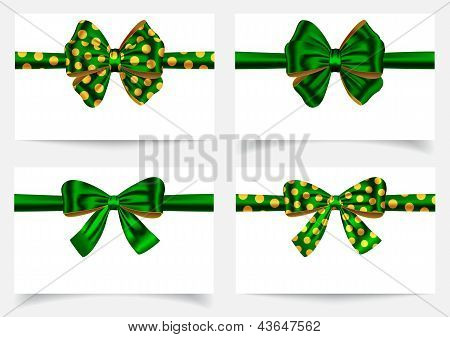 Green Ribbon Set