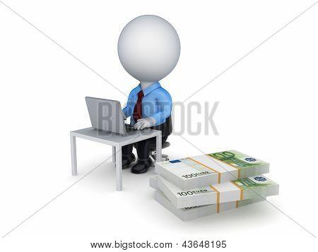 Concepto de E-business.