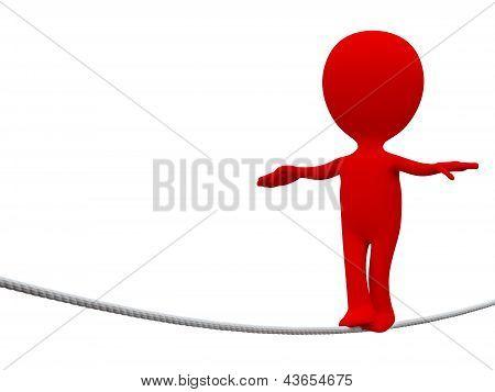 Rope-walker