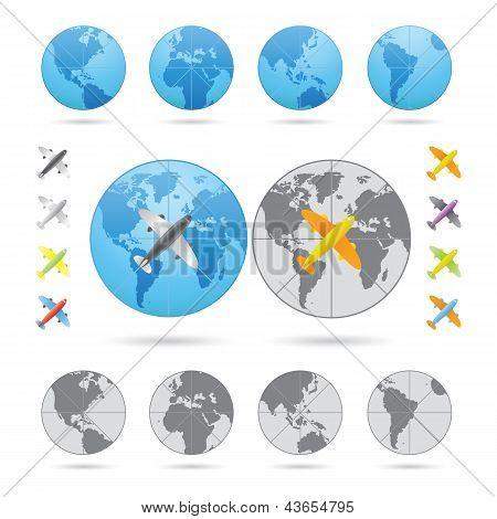 Traveling Series Airplane