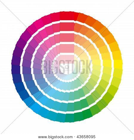 Color Wheel Swatches