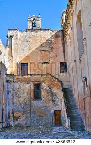 Oratory of SS. Sacramento. Massafra. Puglia. Italy.