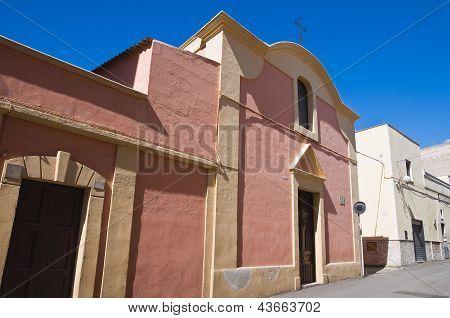 Church of St. Antonio Abate. Massafra. Puglia. Italy.