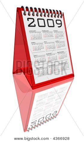 Desktop Calendar 2009 - Path