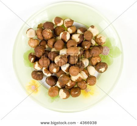 Filbert (hazelnut) On Saucer