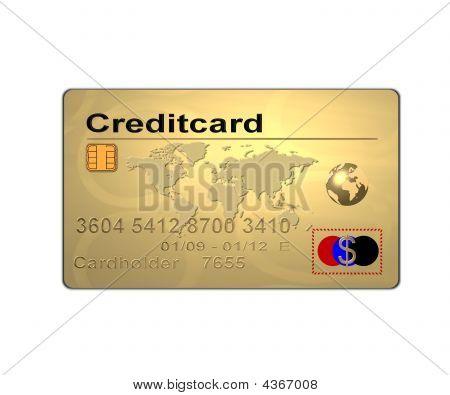 Golden Creditcard