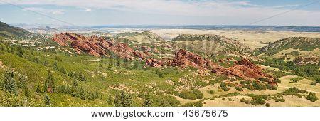 Roxborough State Park Panorama