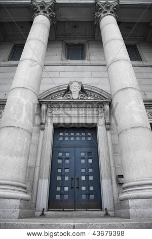 St-joseph Oratory, Blue Door.