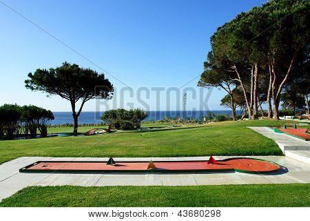 Minigolf Park In Beach And Sport Resort