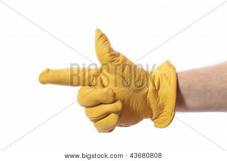 Construction Glove Point