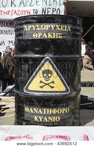 Massive Forward Against Gold Mining