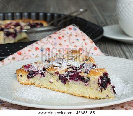 A Piece Of Blackcurrant Cake