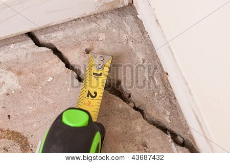 Concrete Crack In Foundation