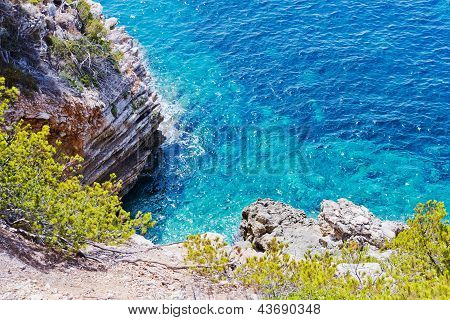 Cliff Coast In Spain