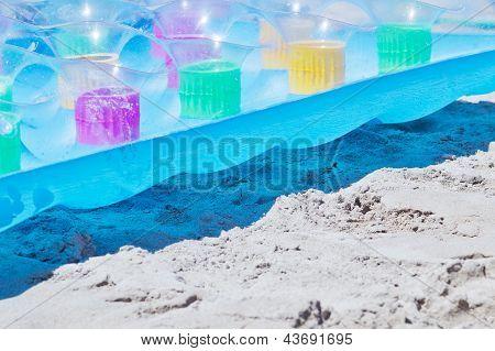 Air Bed At The Beach