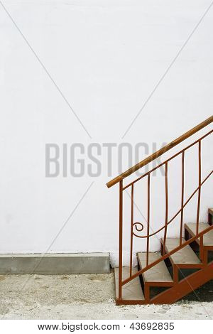 Staircase And Wall