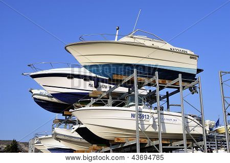 Wintering Of The Boats Except Season
