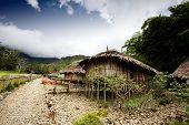 pic of papua new guinea  - A traditional village hut in Papua Indonesia - JPG