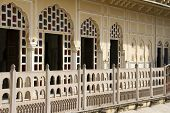 picture of harem  - Rajasthani architecture  - JPG