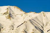 Mount Timpanogos Mountain Close-up