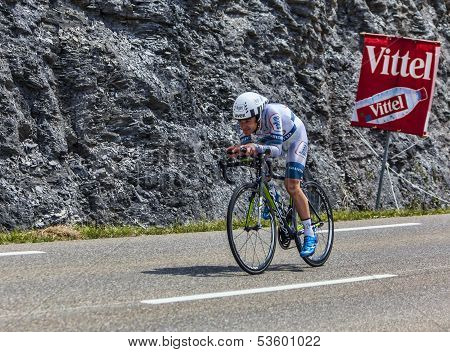 The Cyclist Johannes Frohlinger