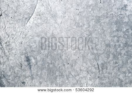 Galvanized Iron Closeup Background Texture