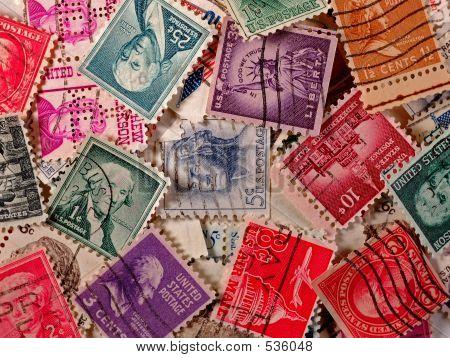 US Vintage Stamps