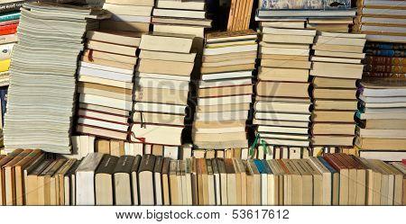 Books Piled