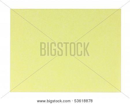 Rectangular sticky note