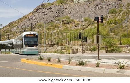 Phoenix Metro Light Rail Train