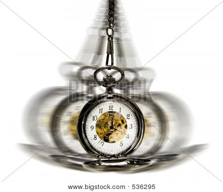 Clock In Motion - Hypnotism