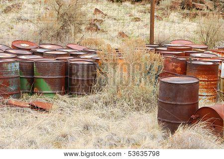 Rust Barrels