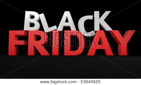 3D Black Friday